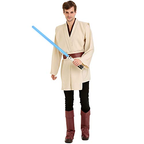 Boo Inc. Force Master Mens Halloween Costume | Adult Cosplay Dress Up Outfit, L Cream ()