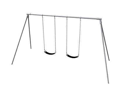 Amazon Com Primary Bipod Swing Set 8 Ft 2 Seat Toys Games