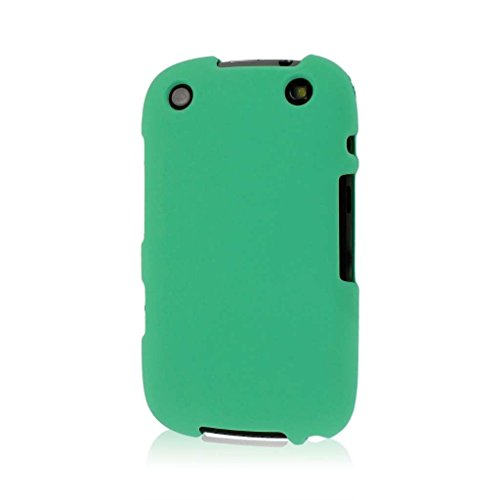 Empire Mpero Snapz Series Rubberized Case for BlackBerry Curve 9310, 9320 - Retail Packaging - Mint Green ()