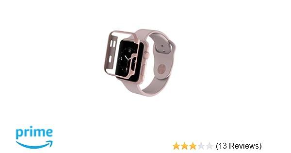 best loved de214 f3b58 ZAGG Luxe Apple Watch Protective Bumper Case - (Rose Gold, 42mm)