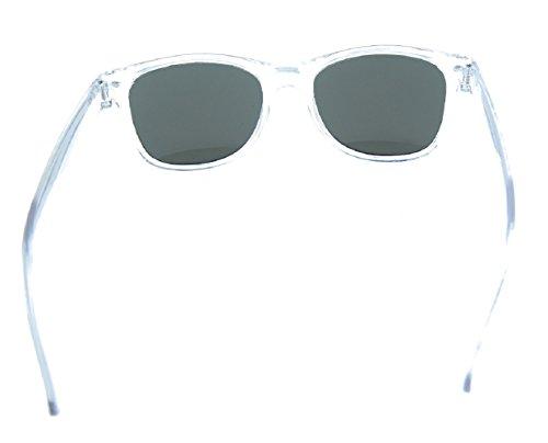Verde sol Espejo Cuadrado Mujer Hombre Gafas Oscuro Retro Unisex Polarizado de Hqz5xYxF