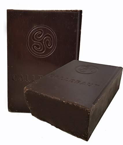 Callebaut Finest Belgian Semisweet Chocolate Blocks - Approximately 1 pound per Block - 2 Blocks ()