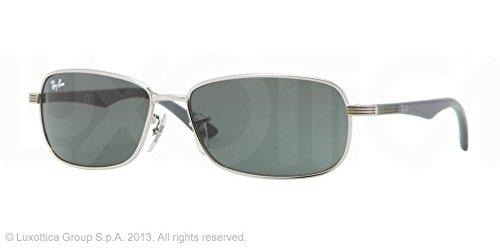 Rayban Gafas de Sol MOD. 9531S SOLE239/71 Plateado: Amazon ...