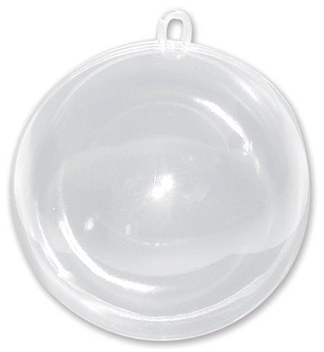 Darice Plastic Fillable Ornament 100mm