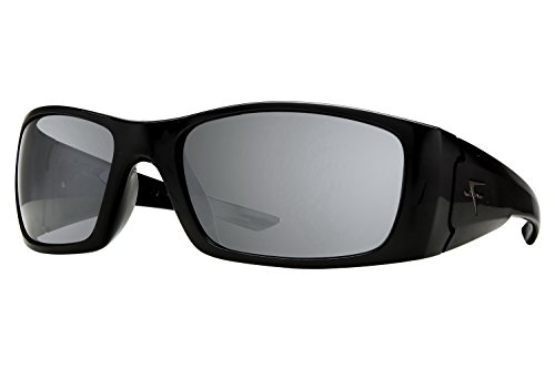 Fatheadz Eyewear Men's Nitro V2.0 FH-V122-1SM Polarized Wrap Sunglasses, Black, 66 - Fatheadz Sunglasses Amazon