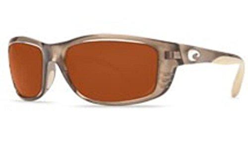 Costa Del Mar Sunglasses - Zane- Plastic / Frame: Crystal Bronze Lens: Polarized Copper 580P - Sunglasses Costa Zane