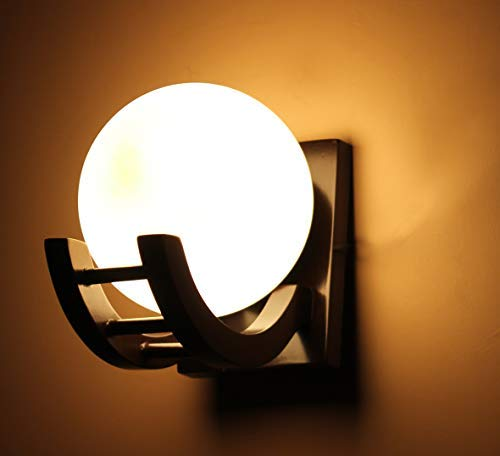 Wooden wall light for bedroom wall decoration