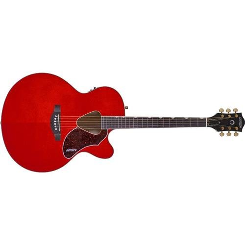 Gretsch G5022CE Rancher Jumbo Cutaway Acoustic Electric Guitar, 21 Frets, Rosewood Fretboard, Mahogany Neck, Active Pickup, Gloss Polyester, Savannah Sunset