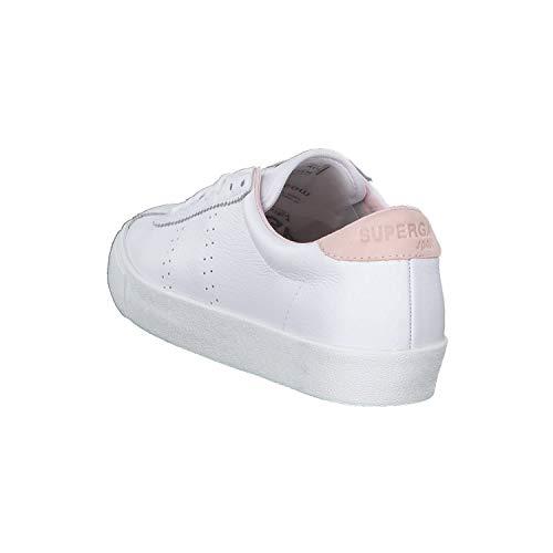 White Superga Zapatillas Comfleau Mujer Para pink 2843 wqPTxqS1H