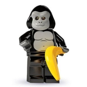 Lego minifigs [Series 3] gorilla costume