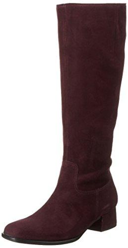 Gabor Shoes Basic, Botines para Mujer Rojo (New Merlot 15)