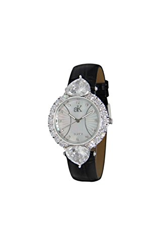 Adee Kaye Sweet Heart Mother of Pearl Dial Ladies Watch