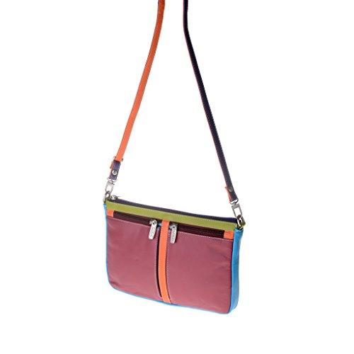 Dudu - Sac porté épaule en cuir - Colorful Collection - Togean - Violet