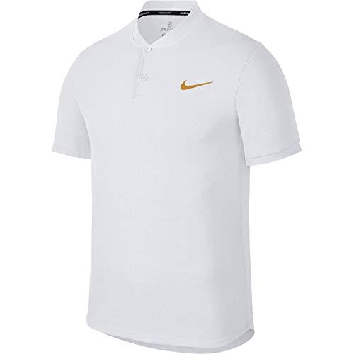 gold White Dri Homme fit Advantage white Court Polo Leaf Nike EqwR1xY8R