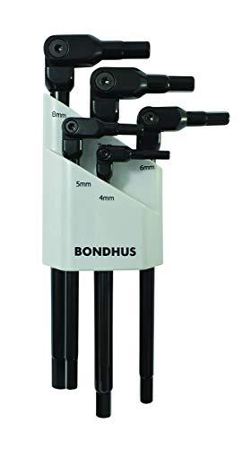 Bondhus 00027 Hexpro Pivot Head 5Piece Metric Hex Wrench Set (1per Pack)