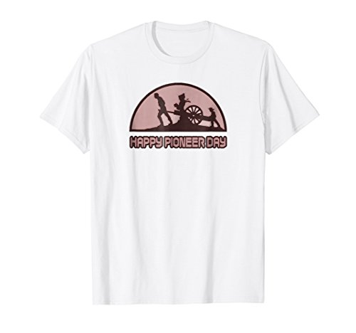 Utah Pioneer Day T-Shirt Parade Festival Costume ()