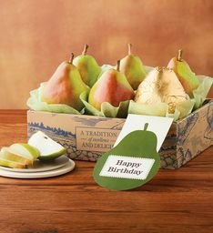Harry and David Happy Birthday Royal Verano Pears Gift (Harry And David Pears)