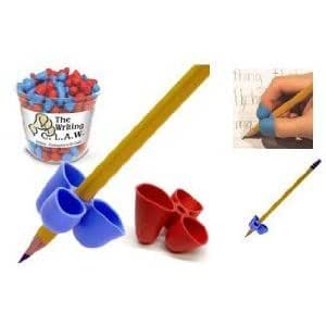 Agarre Lápiz Escribir C.L.A.W Mediano Set de 5 Varios Colores