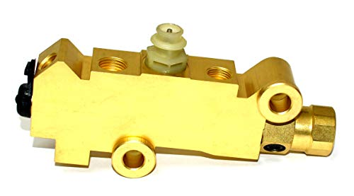 A-Team Performance GM DISC/DRUM Disc Front Drum Rear Brake Brass Proportioning Valve PV2 172-1353 PV71 Street Rod Classic Car & -