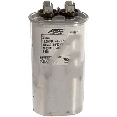 370 30//5 Packard TRCD305 Motor Run Capacitor Oval MFD Volts