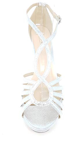 Menbur 09 Compensées Silber Tiflis Argenté Femme Chaussures r7TrqA