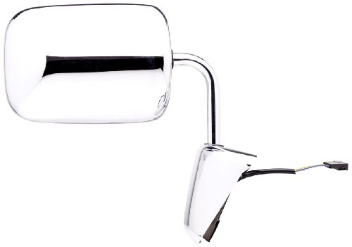 W250 Glass Mirror Dodge - Fit System 60127C Passenger Side Replacement OE Style Power Mirror
