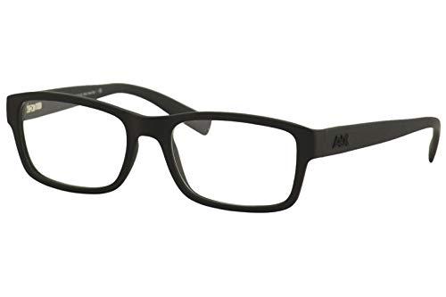 A|X Armani Exchange AX3023 Eyeglass Frames 8078-53 - Matte Black AX3023-8078-53