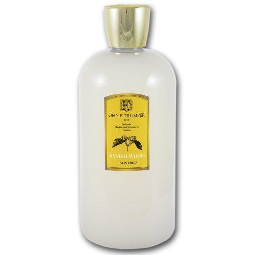 Geo F Trumper Sandalwood Skin Food Pre and Post Shave Gel (500 ml) by Geo F. Trumper -