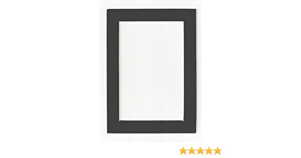 Amazon.com: Charcoal - Dark Gray Acid Free Picture Frame Mat, 11x14 ...
