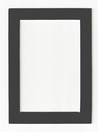 charcoal-dark-gray-acid-free-picture-frame-mat-11x14-by-after-five-framing