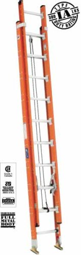 UPC 728865086082, Louisville Ladder - FE7516 - Fiberglass Plate Connect Straight Ladder, 16 ft. Ladder Height, 17-3/8 Overall Width