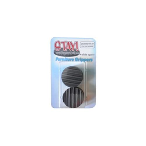 Furniture Grippers. Keep Furniture From Sliding On Hard Surface Floors.  Grey ROUND