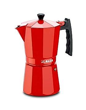 Luxe Red ALZA Cafetera moka o italiana 12 tazas válida para ...