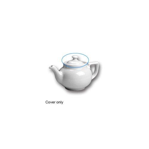 Hall China 21-WH COVER Knob Cover for 10 Oz Boston Teapot - 12 / CS