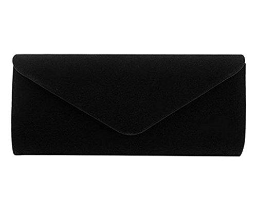 Nodykka Clutch Purses For Women Evening Bags Shoulder Envelope Party Cross Body Handbags (Black3) by Nodykka (Image #1)