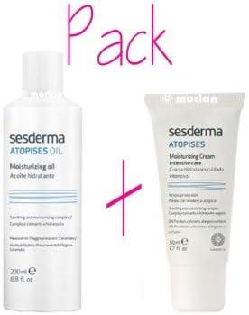 SESDERMA ATOPISES PACK=ACEITE 200ML + CREMA 50ML PIELES CON ...