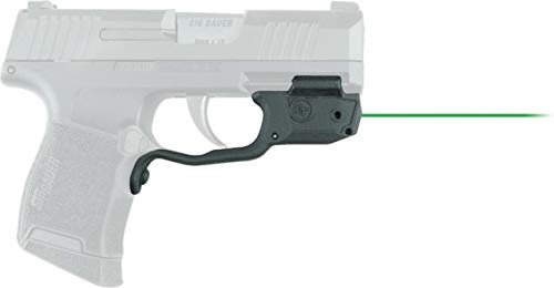 Crimson Trace LG-422G Green Laser Sight for Sig Sauer P365 Pistol, Laserguard