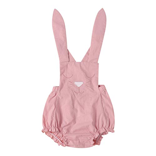 facca7c164a3 Sunyastor Toddler Baby Girls Kid Easter Romper Outfits Bunny Lace Rabbit  Bodysuit Jumpsuit Summer Clothes Sets