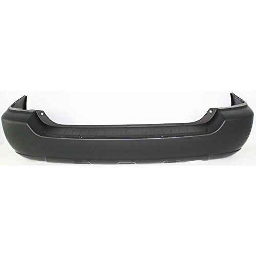 Rear BUMPER COVER Primed for 2004-2007 Toyota Highlander