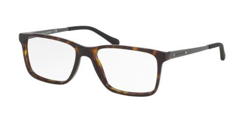 Ralph Lauren RL6133 Eyeglass Frames 5616-54 - 54mm Lens Diameter Dark Havana - For Men Eye Frames