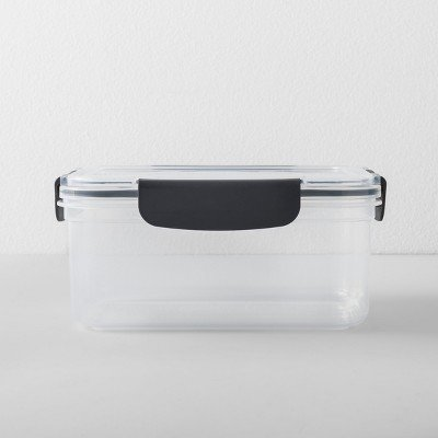 Rectangular Plastic Food Storage Container 7 Cup - Made by Design153;