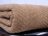 - NatureSoft Buffalo Color Grown Organic Cotton Herringbone Queen Blanket