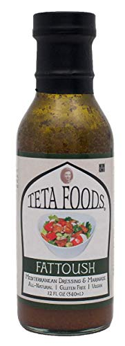 Teta Foods, Dressing Fattoush, 12 Fl - Mediterranean Salad