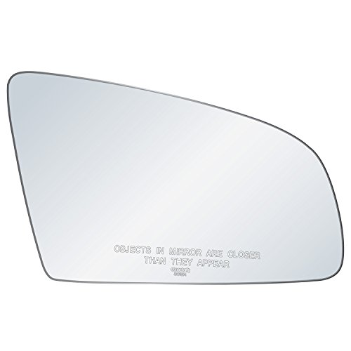 exactafit 8015R Replacement Power Side Mirror Glass Lens fits Passenger Right Hand RH for Audi A3 A4 A6 RS4 S4 S6 Quattro by Rugged TUFF ()