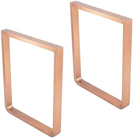 CRKY Patas de Muebles de Acero Inoxidable de 72 cm, Patas ...