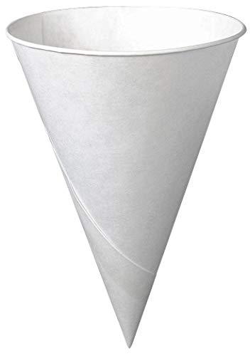 Solo 6r-2050 6 Oz White Cone Paper Cups, PK/200