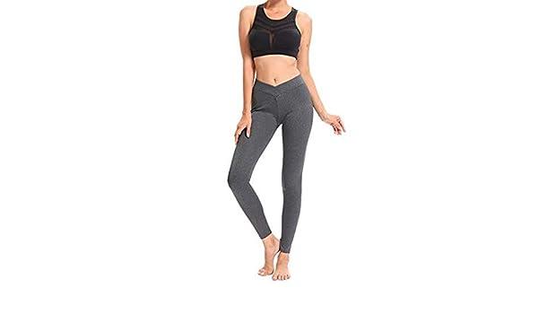 XXPF Pantalones de Yoga Pantalones de Entrenamiento para ...