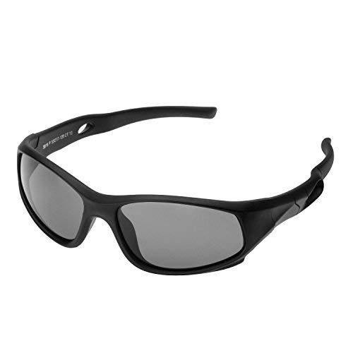 7ebc4f28b0 Protección UV400 Marco Flexible Infantiles Ovaladas Gafas de Sol Deporte  Polarizadas Niño y Niña (3