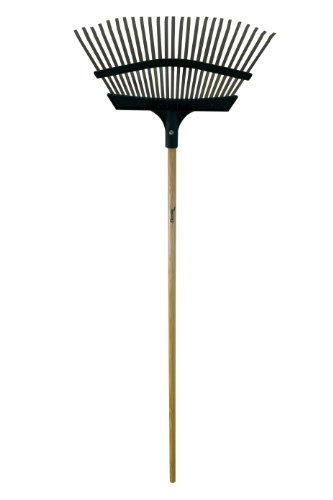 Flexrake 9F Lawn Rake with 20-Inch Metal/Poly Head Only by Flexrake