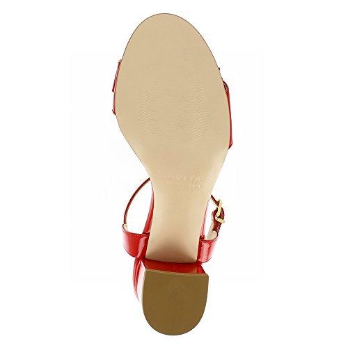 Scarpe Donna vernice Evita in rossa Sandali Mariella 0rx0gnqA